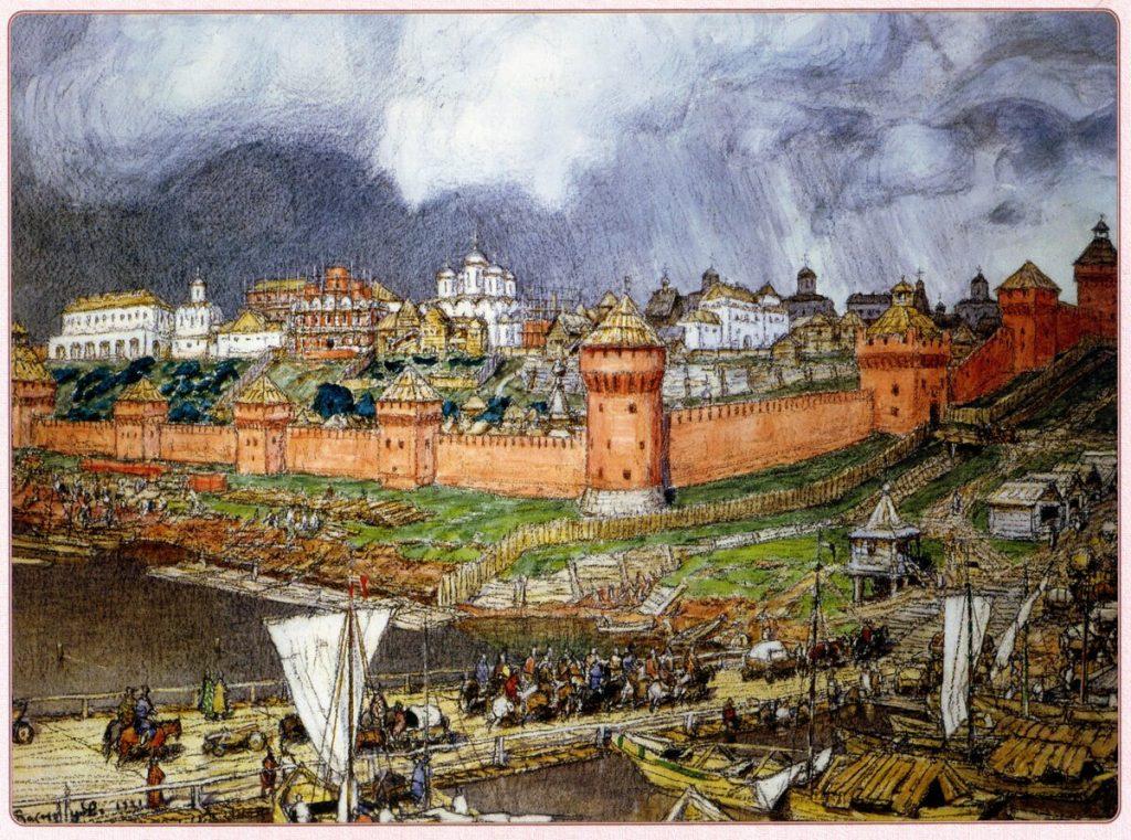 Москва центр русских земель